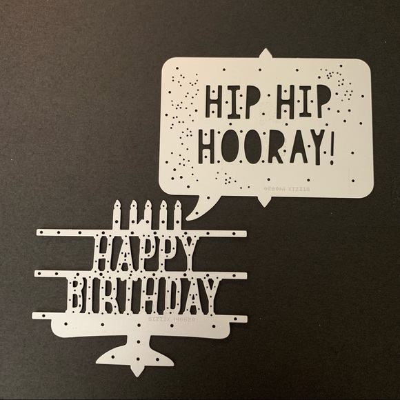 Stampin'Up Party POP-UP  Thinlits Dies #140620